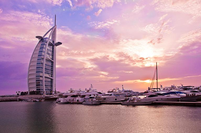 Dubai, Abu Dhabi i Qatar